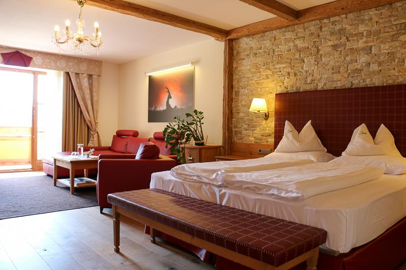 Suite im Hotel Quelle im Gsieser Tal