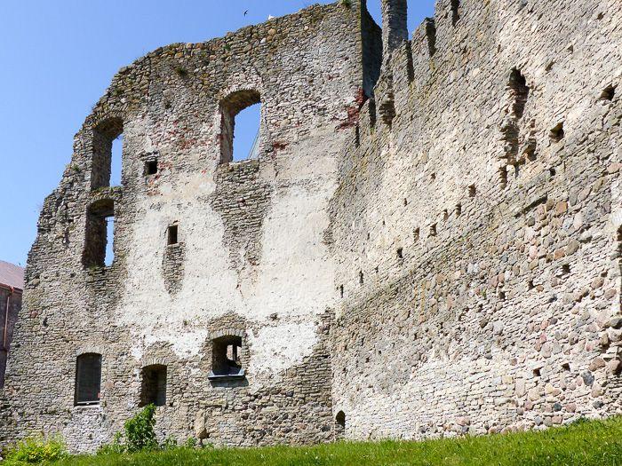 Schlossruine in Haapsalu